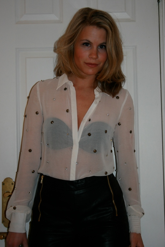 See Through Blouse Pics - Long Blouse With Pants